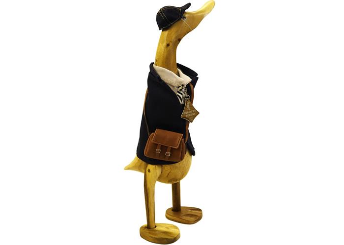 Wooden Duck - QUACK TO SCHOOL BOY