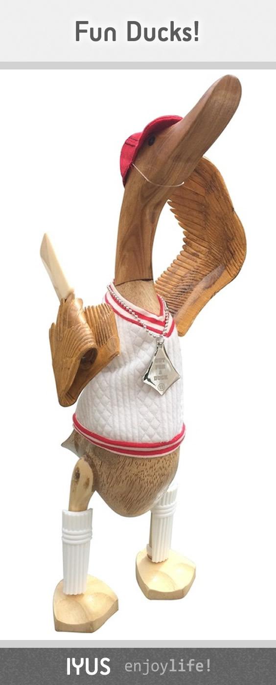 Cricket Wooden Duck