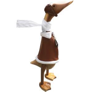 Pilot Wooden Duck Character