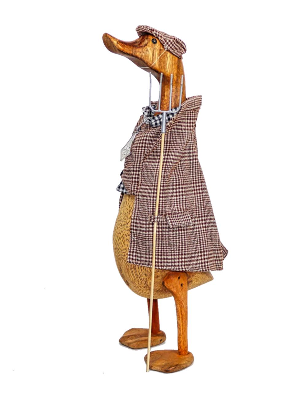 Farmer Wooden Duck